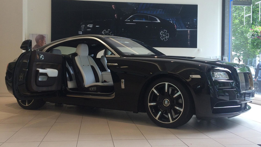Rolls-Royce Wraith Commissioned By Legendary Rocker Revealed