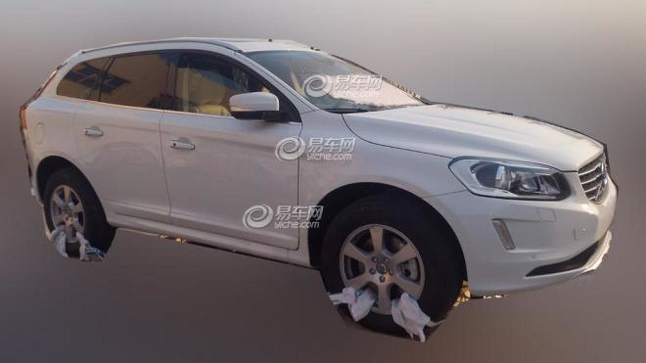 2014 Volvo XC60 facelift spy photo 28.12.2012