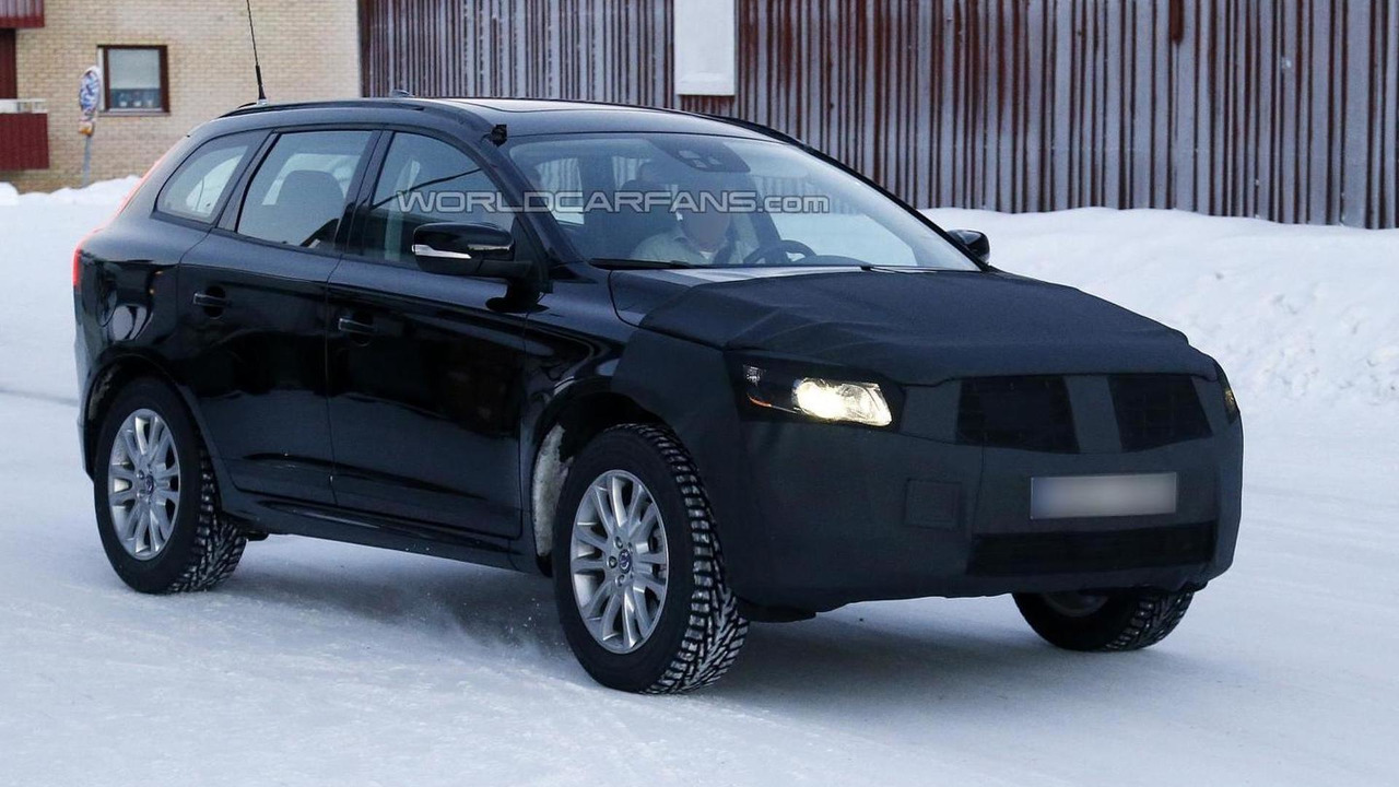 2014 Volvo XC60 spy photo 24.01.2013 / Automedia