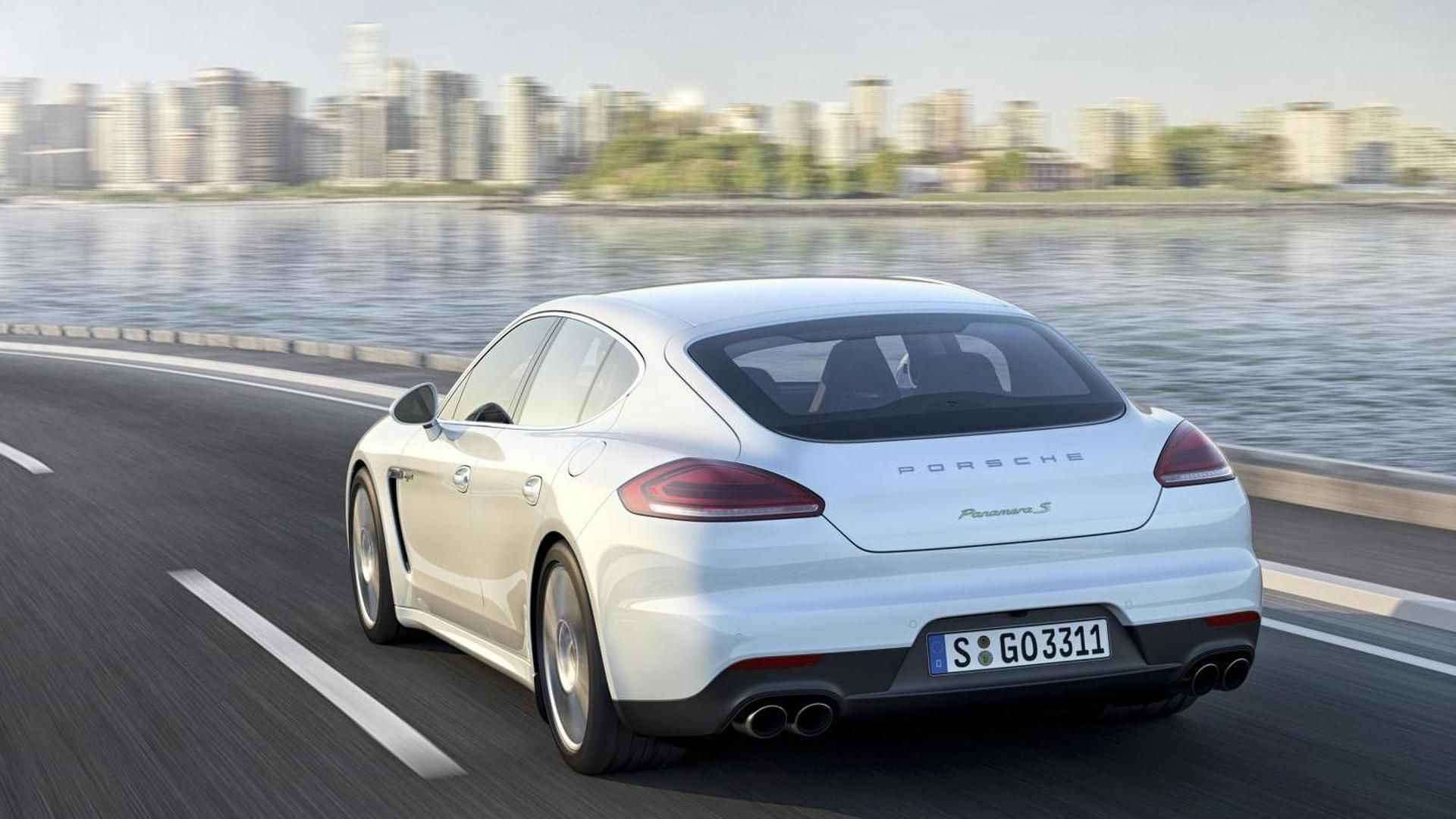 porsche panamera 4 e hybrid performance version with 500 hp ing