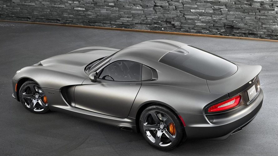 2014 SRT Viper GTS Anodized Carbon Special Edition announced