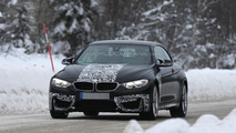 BMW M4 Convertible spy photo