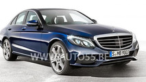 2014 Mercedes C-Class leaked picture 12.12.2013