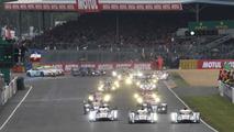 Audi R18 e-tron quattro at 2013 24 Hours of Le Mans 23.6.2013