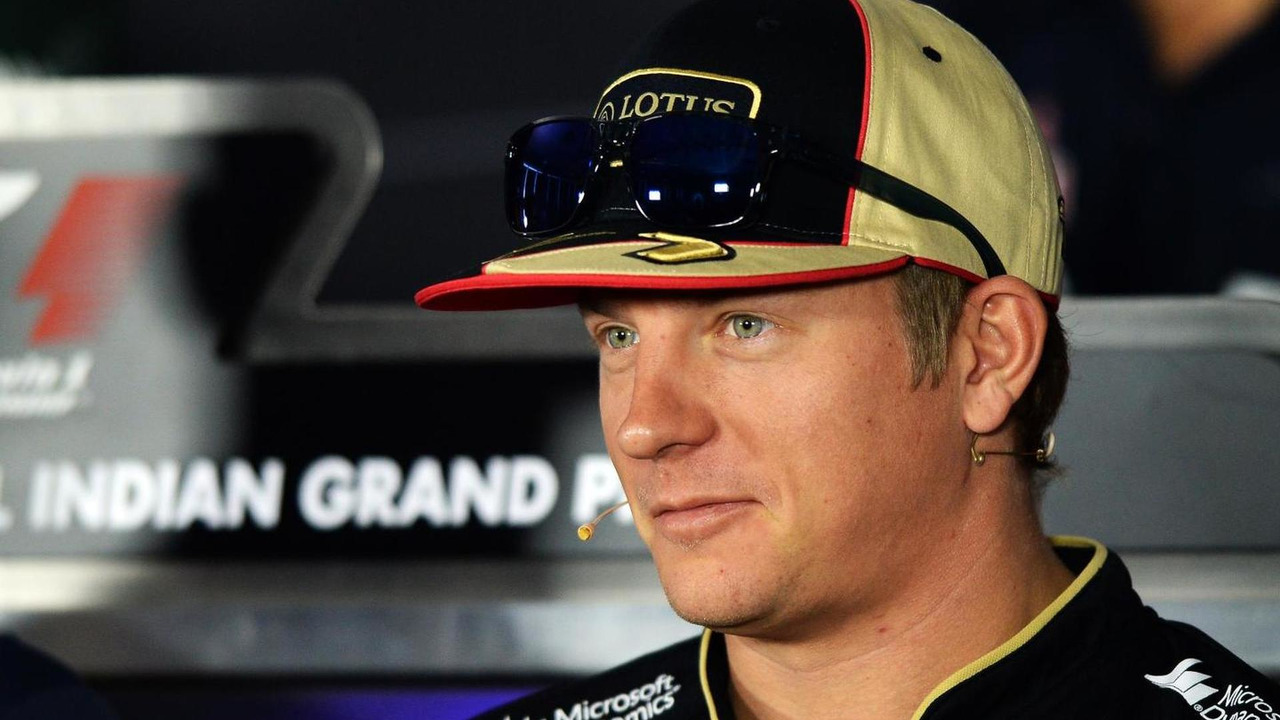 Kimi Raikkonen 24.10.2013 Indian Grand Prix
