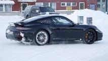 Porsche 911 / 911 Turbo facelift spy photo