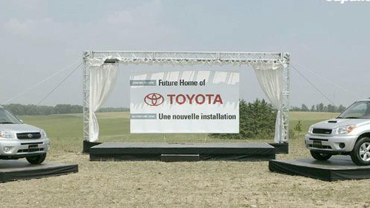 Toyota Breaks Ground in Woodstock