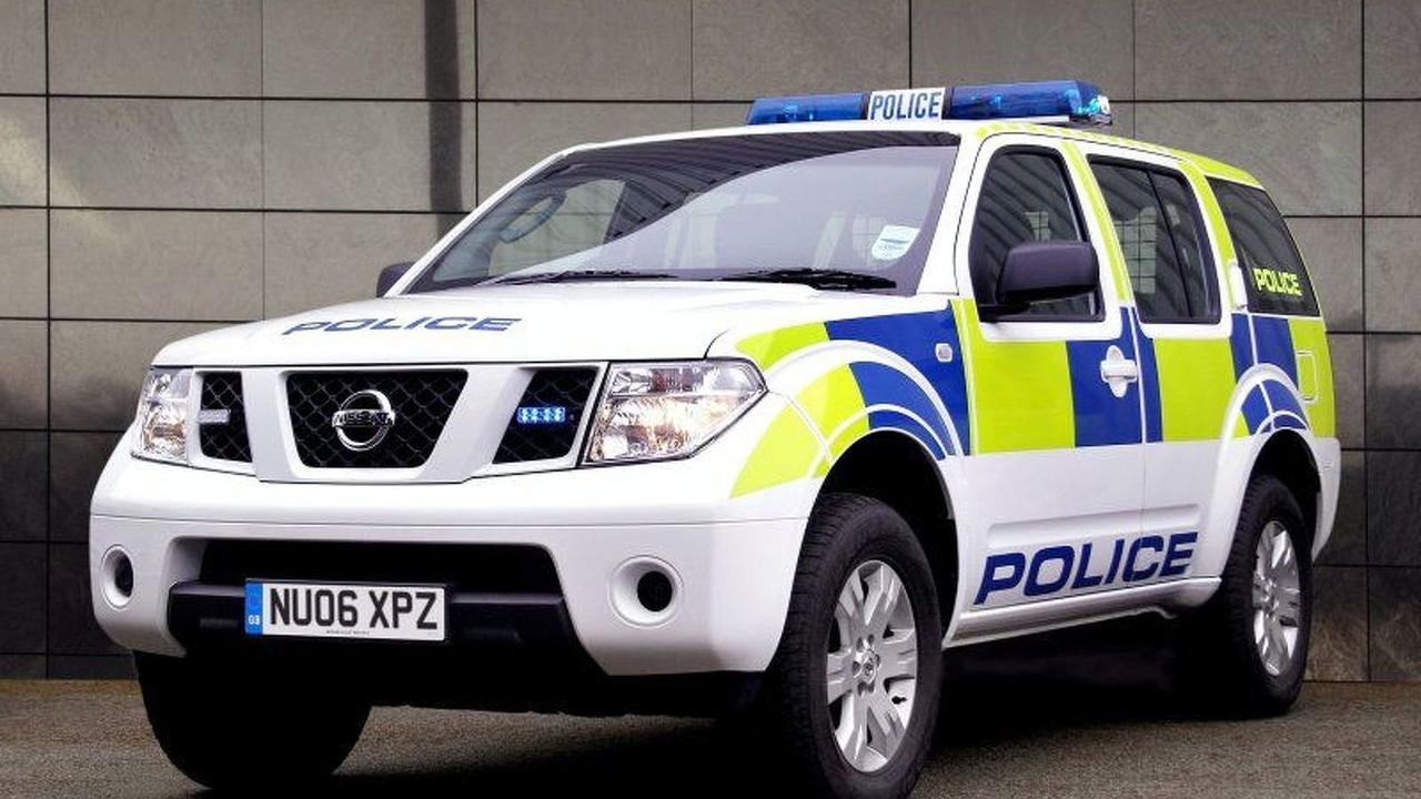 Nissan Pathfinder Joins Transport Police