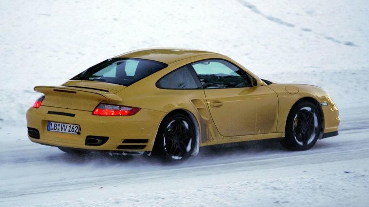 New Porsche 997 Turbo Spy Photos