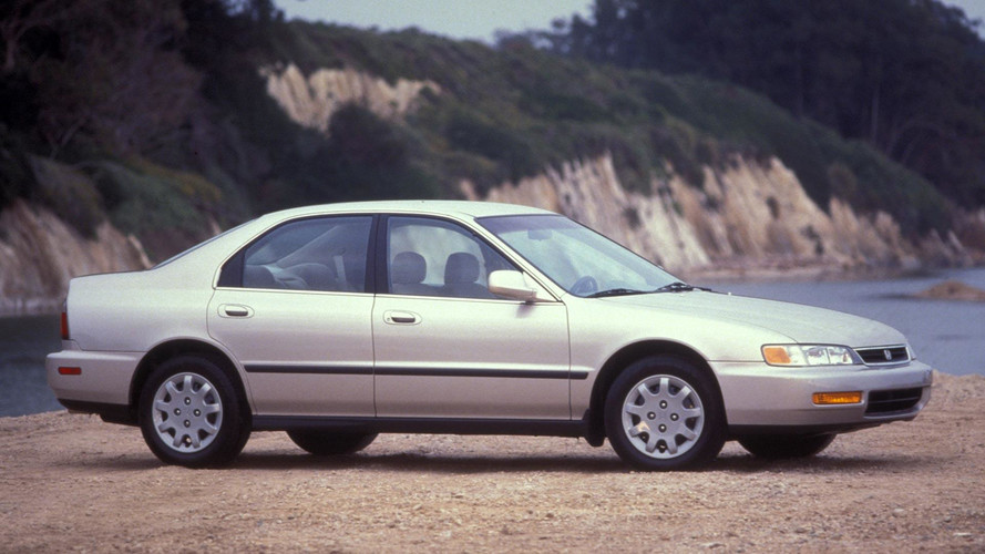 20-Year-Old Honda Accords Were 2016's Most Stolen Vehicles