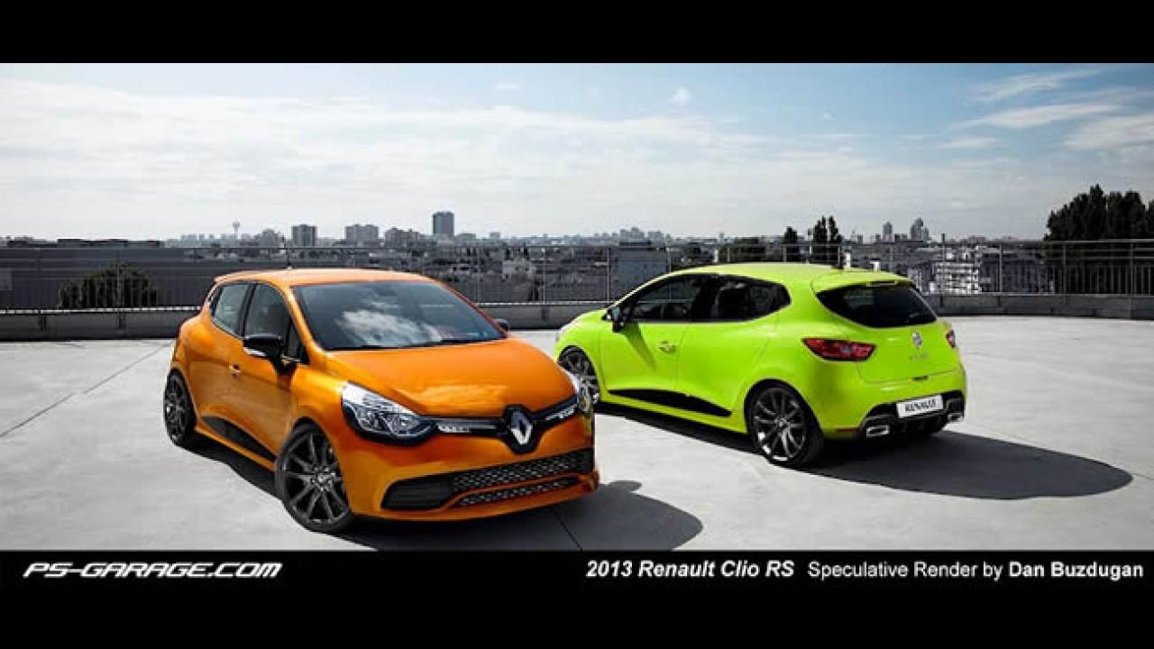 Projeções: Como será o Novo Renault Clio RS 2013