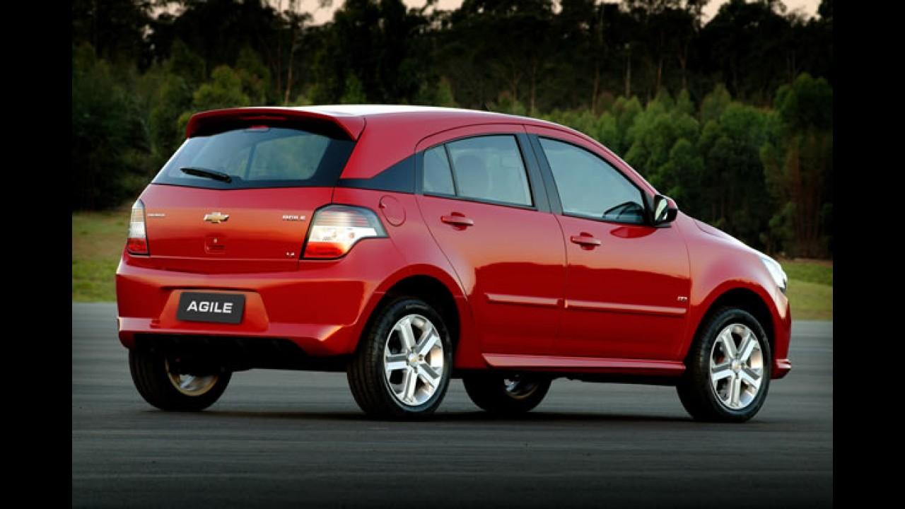 Chevrolet Agile ganhará câmbio automatizado Easytronic no ano que vem