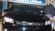 Jeff Gordon With 2006 Monte Carlo