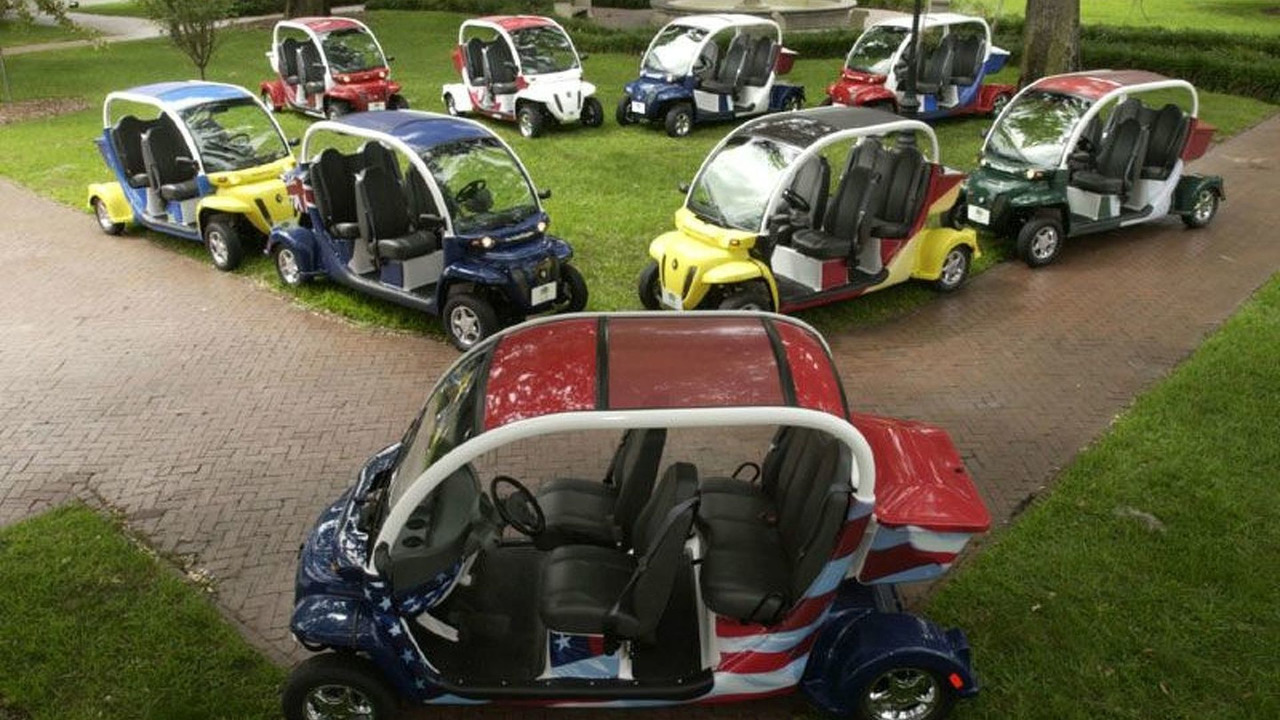 DaimlerChrysler GEM Electric Vehicles