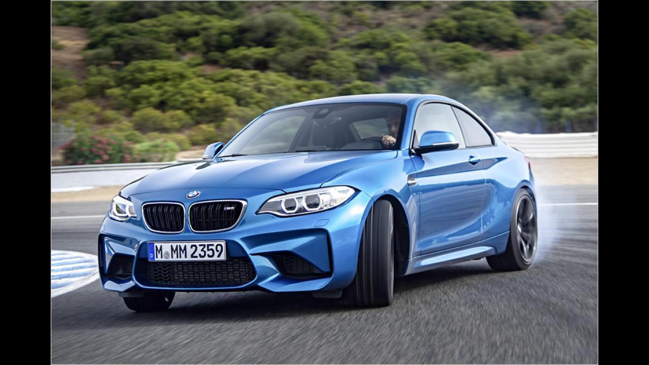 BMW M2 Coupé M DKG Drivelogic: 4,3 Sekunden