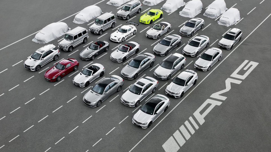AMG teases 8 new models - reveals AMG Performance 50 strategy