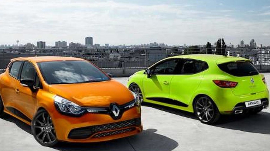 Renault Clio RS speculatively rendered