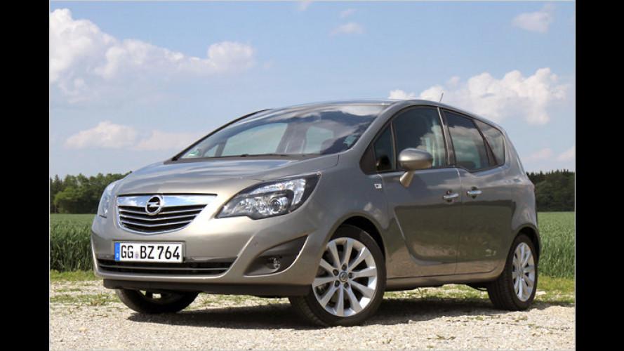 Der Portal-Van: Opel Meriva 1.4 Turbo mit 140 PS im Test
