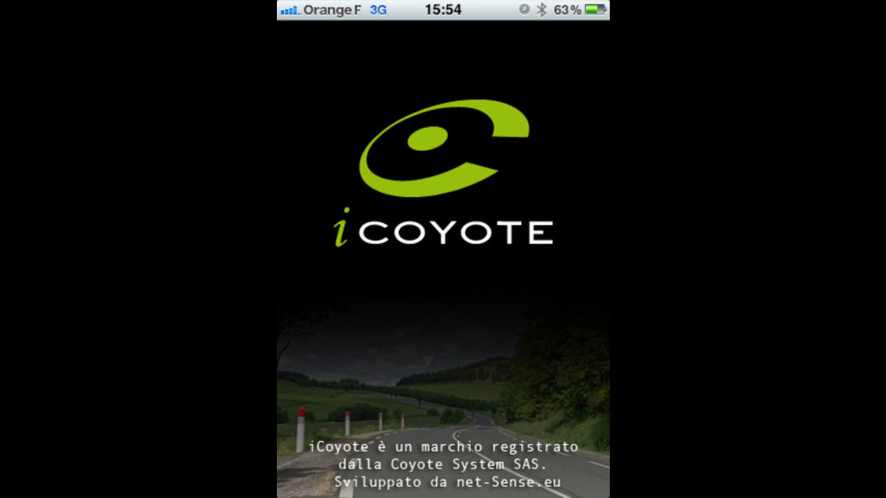 iCoyote, il Coyote per iPhone e iPad