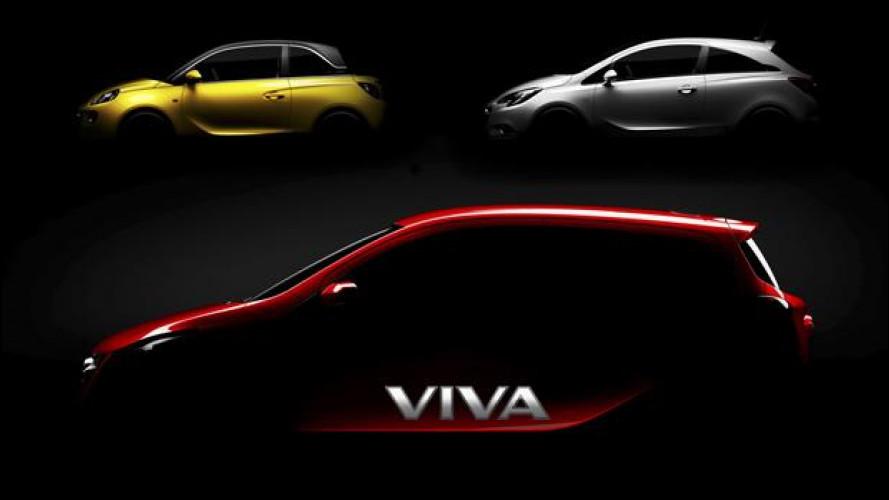 Opel Viva, l'erede della Agila sta arrivando