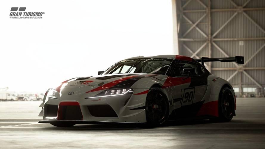 El Toyota GR Supra Concept, protagonista de la actualización de GT Sport