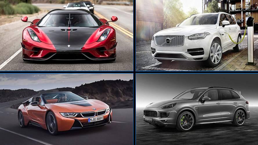 Los 15 coches híbridos enchufables más potentes