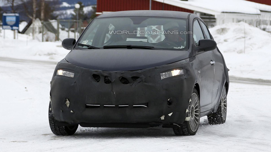 Lancia Ypsilon facelift spied showing minor changes