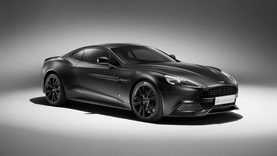 Q by Aston Martin prepares Satin Jet Black Vanquish Coupe