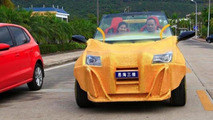 China's first ever 3D printed car unveiled, looks shoddy [video]