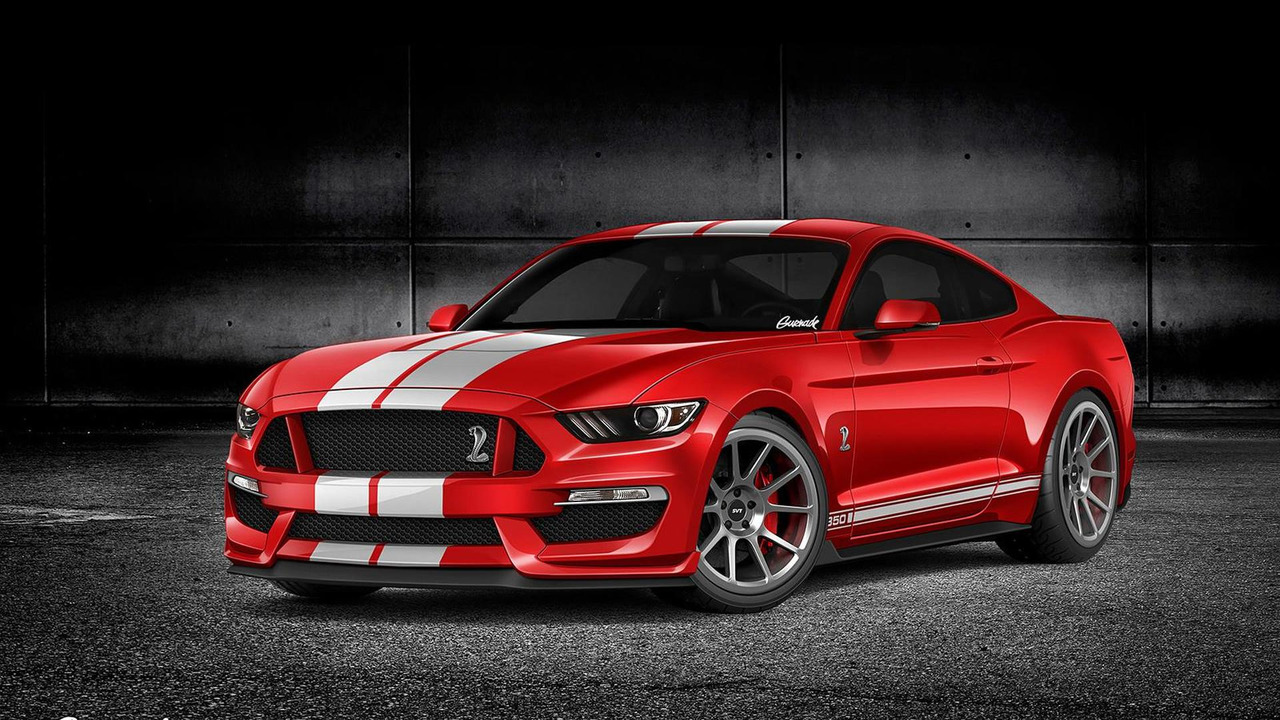 2016 Ford Mustang GT350 render