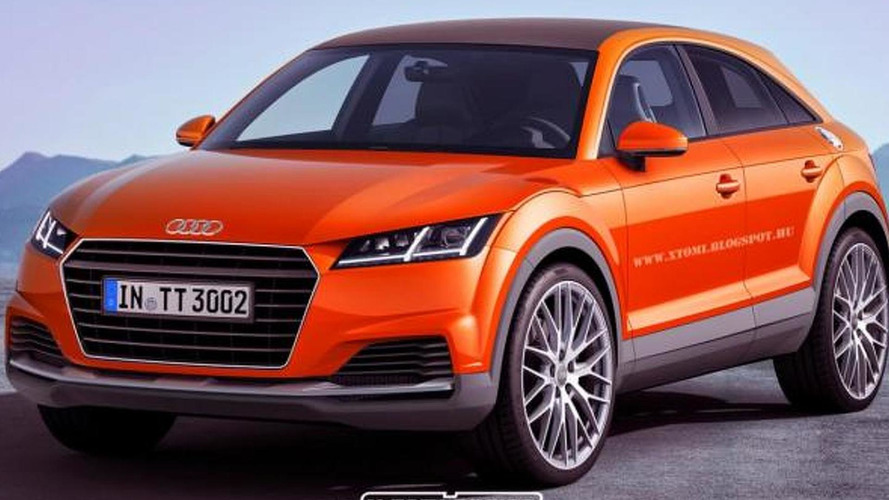 Audi TTQ rendered as production model