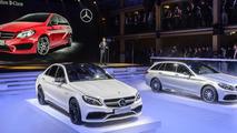 Mercedes AMG GT & C63 AMG live in Paris