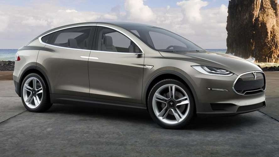Tesla Model X new details emerge, production version to feature falcon wing doors