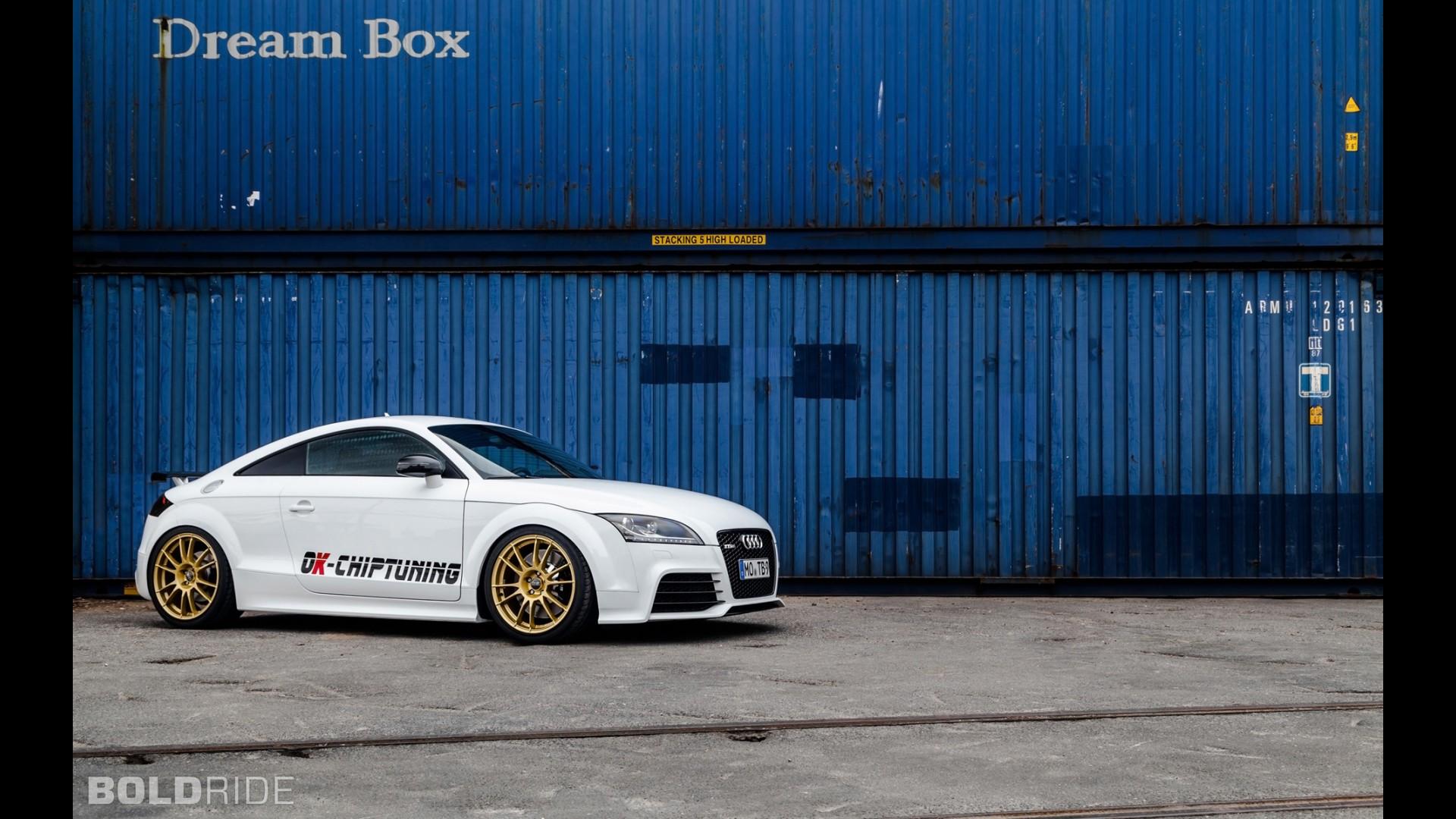 Новая Audi TT RS Plus от OK-Chiptuning