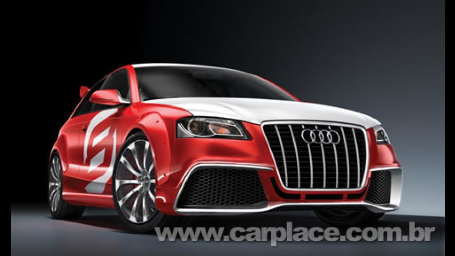 Audi divulga imagens oficiais do A3 TDi Clubsport Quattro Concept