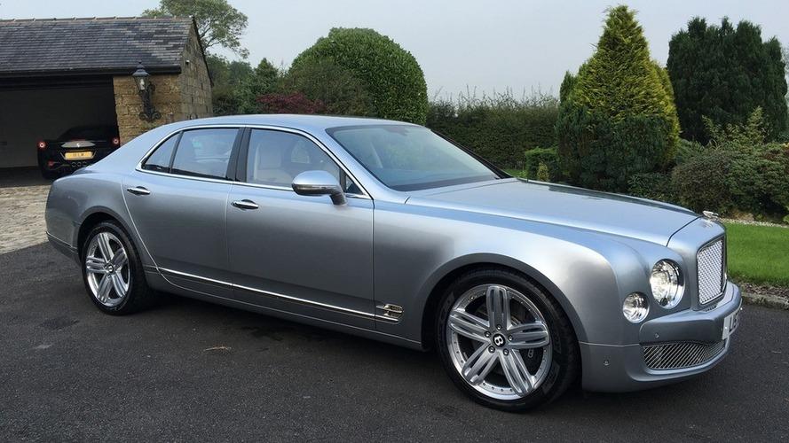 Le patron de Lister vend sa Bentley Mulsanne de 2012 sur Ebay