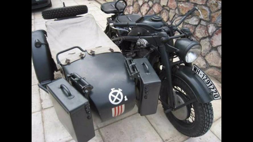 Brad Pitt, WWII Nazi Sepetli Motosikleti İçin 400.000 Euro Ödedi