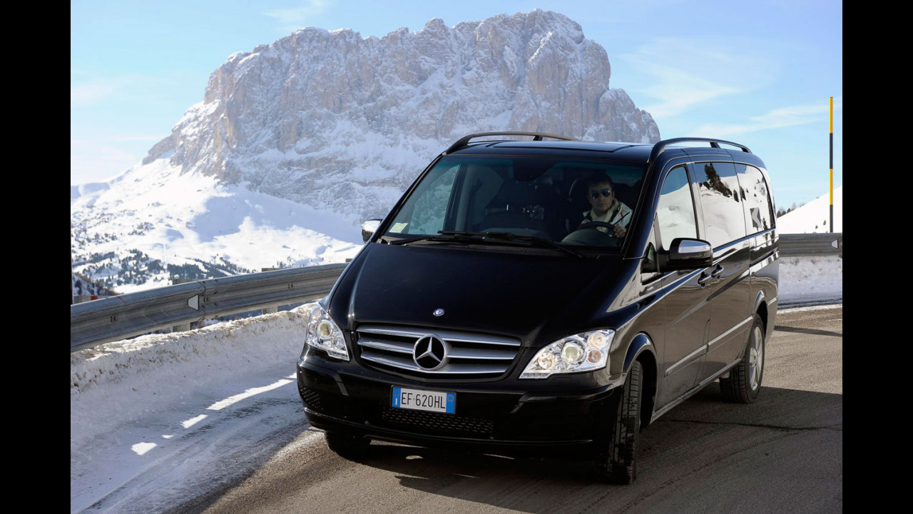 Mercedes Viano facelift - TEST