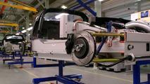 Lotus Elise in production at Lotus Hethel plant