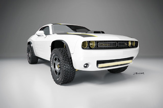 Rule the Dunes with this Challenger A/T Untamed Concept