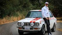 1970 Toyota Corolla and Jamie Bestwick