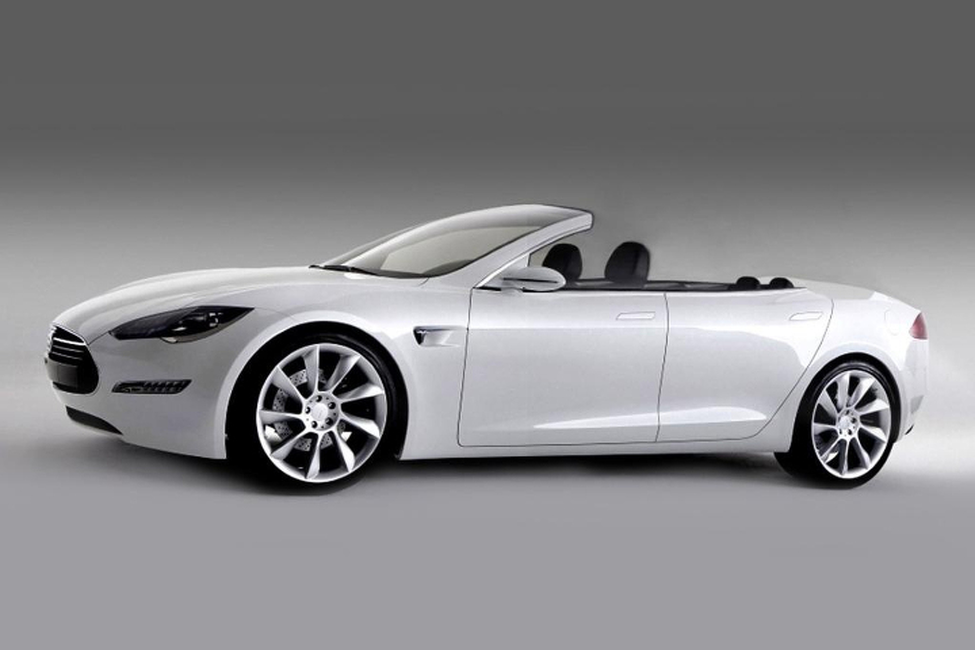 California pany Taking Tesla Model S Topless
