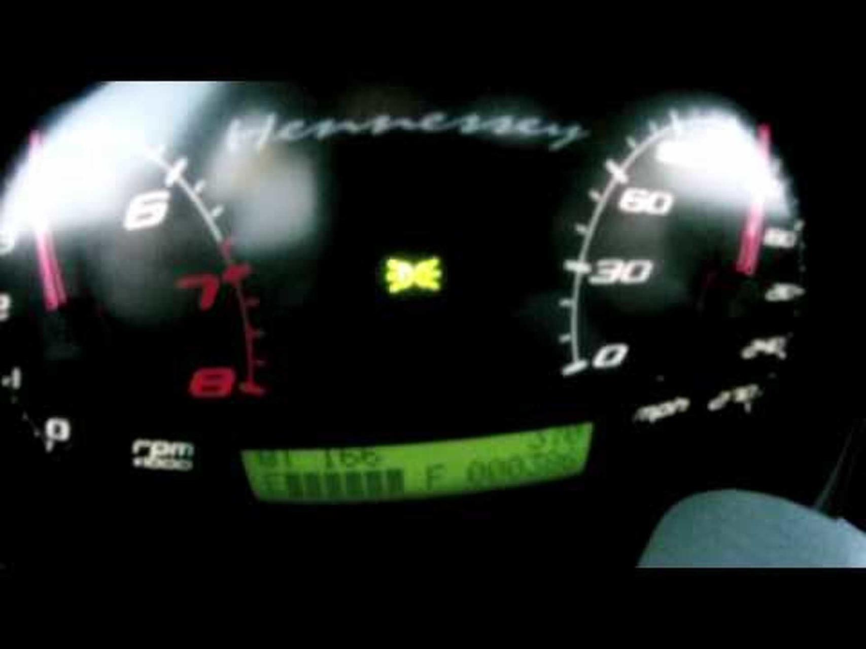 Hennessey Venom GT: 70 - 215 mph Acceleration