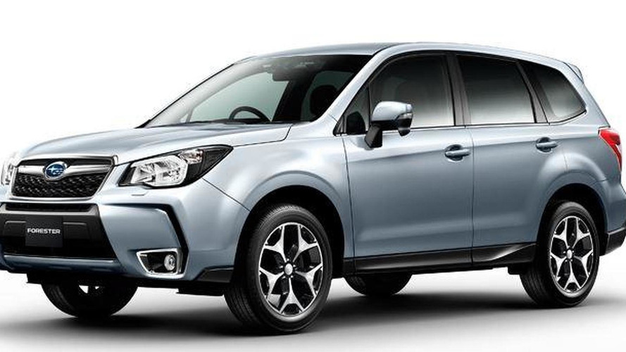 Subaru Forester facelift leaked through scanned brochure