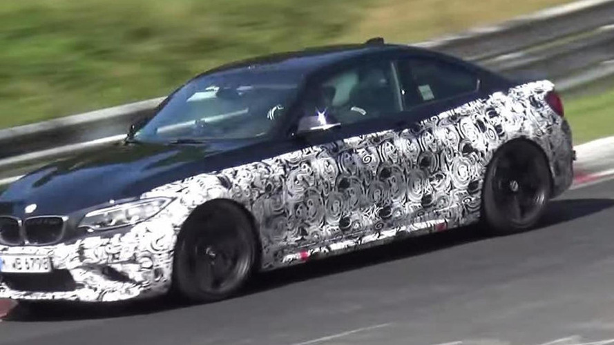 BMW M2 seems very quick during final Nurburgring testing rounds [spy video]