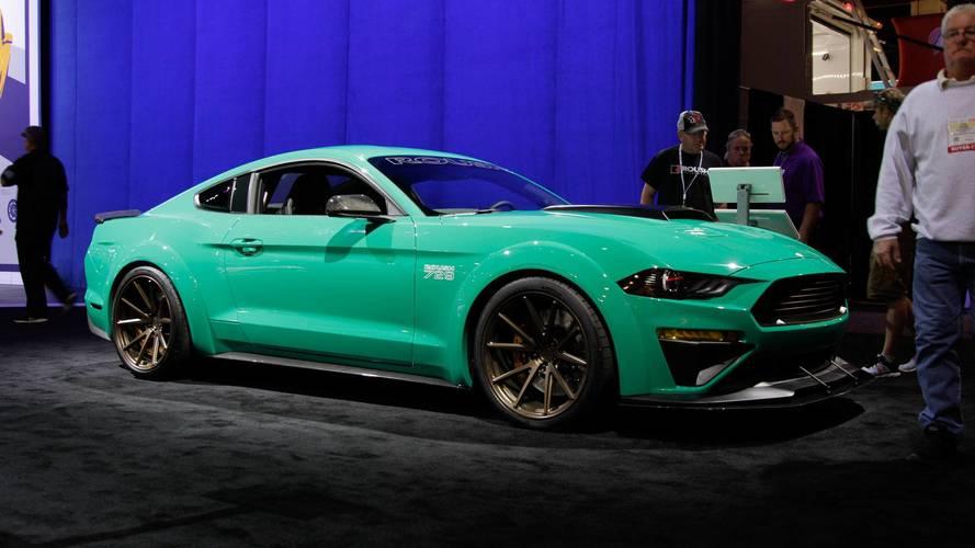 Ford Mustang Roush 729 - SEMA Show 2017