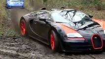 Supercars In Mud