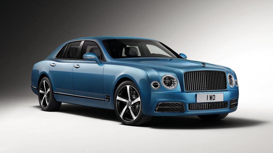 Bentley Mulsanne Frankfurt'a farklı geliyor