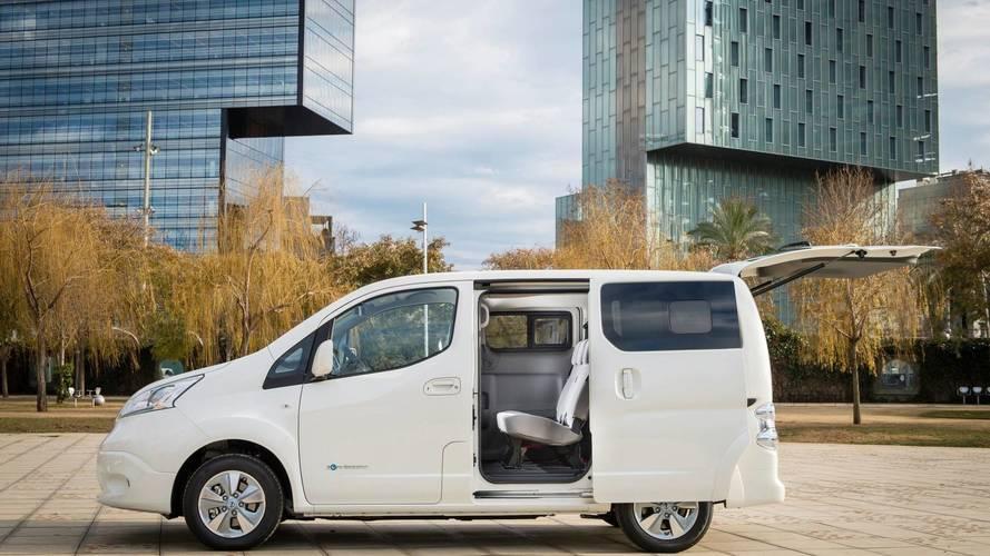 Az új Nissan Leaf akkumulátorával roboghat tovább az e-NV200 típusú elektromos furgon