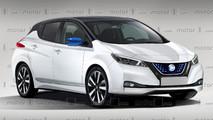 Nissan Leaf 2018 render